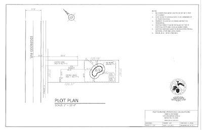 Pool Plot Plan